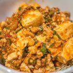 麻婆豆腐が大人気