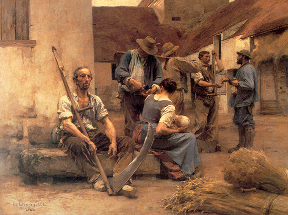 La_Paye_des_Moissonneurs_Paying_the_Harvesters_1892