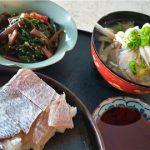 移動制限中のささやかな楽しみ 「鯛の押し寿司」